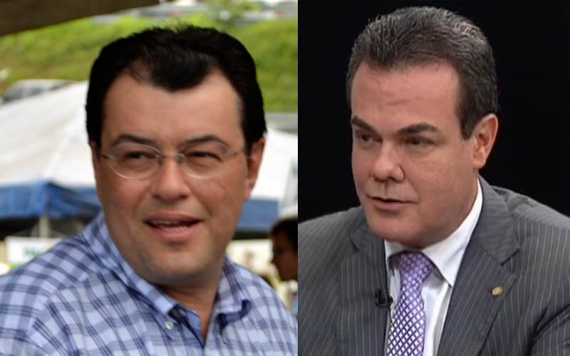 Eduardo Braga é candidato ao Governo do Amazonas e Henrique Oliveira, a vice-governador na chapa do governador José Melo