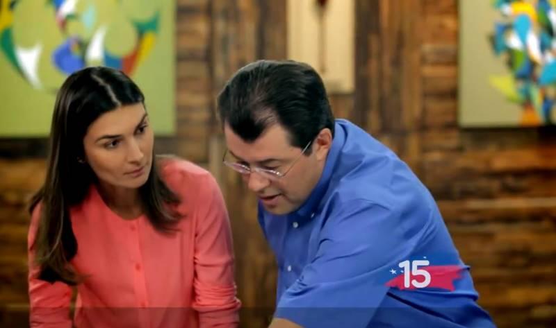 Eduardo Braga e Rebecca TV