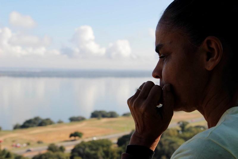 Marina Silva passa a ser o principal alvo dos candidatos à presidência da República que até a morte de Eduardo Campos lideravam a corrida eleitoral (Foto: Divulgação)