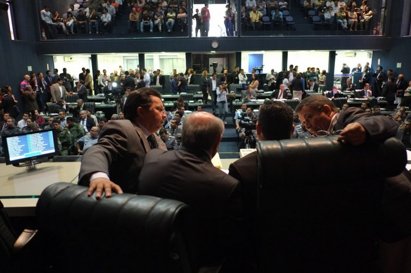 Os deputados estaduais passaram a faltar ainda mais neste mês, com a intensificação da campanha eleitoral no interior do Estado (Foto: Danilo Melo/ALE)