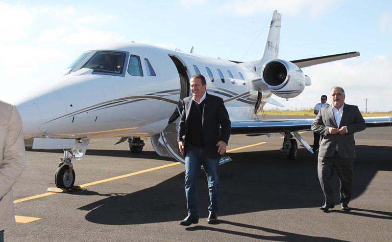 A operação teve origem após a queda do avião, durante campanha presidencial que matou Eduardo Campos (Foto: Divulgação)