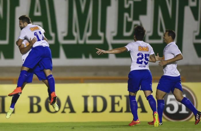 Cruzeiro, invicto há 14 partidas