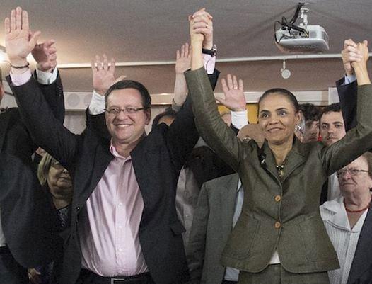 Marina Silva e Beto Albuquerque substituem a chapa Eduardo Campos e Marina (Foto: Divulgação)