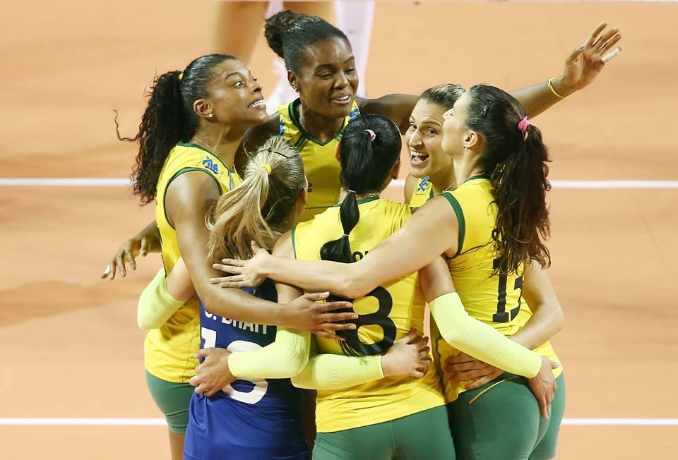 Brasil derrota Rússia no vôlei feminino