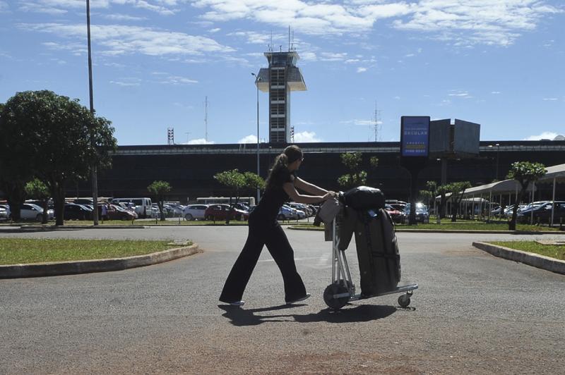 Aeroportos de 270 cidades brasileiras serão beneficiados com a MP editada em junho passado (Foto: Elza Fiúza/Agência Brasil)