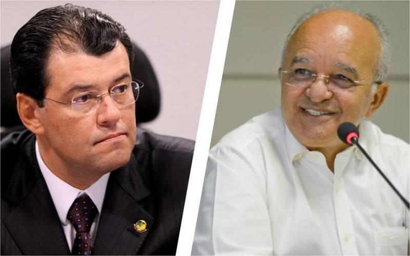 O senador Eduardo Braga perdeu oito pontos percentuais enquanto o governador José Melo ganhou seis (Foto: Divulgação)