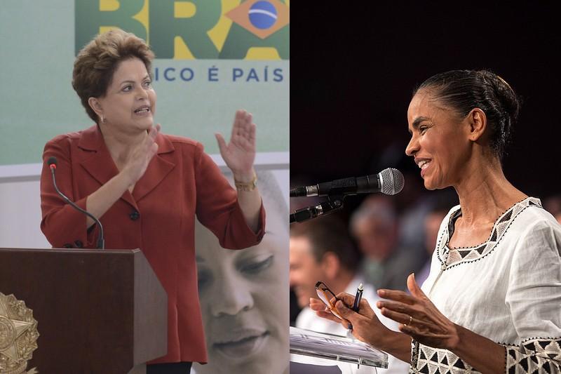 Marina Silva passou a ser o principal alvo dos candidatos à Presidência da República depois que as pesquisas apontaram ela com chances de vencer a eleição no segundo turno (Foto: Divulgação)