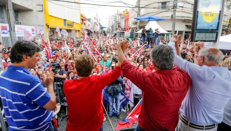 """Em São Paulo, que tem o PSDB no comando do governo e o PT comando da prefeitura da capital, a maioria dos votos são de Marina Silva, que não tem """"palanque"""" no Estado (Foto: Divulgação)"""