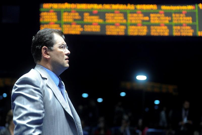 Horizonte de incerteza: até o mês passado as pesquisas davam vitória de Braga no primeiro turno, mas os números indicam que a disputa pode ser levada para o segundo turno (Foto: Marcos Oliveira/Agência Senado)