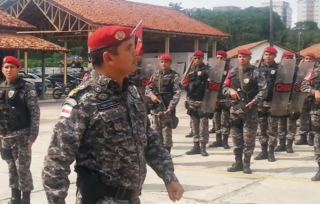 O tenente-coronel Fabiano Bó assumiu o comando do CPE em novembro do ano passado e ficou menos de um ano no posto (Foto: Divulgação)