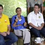 Marina Silva participou de evento sobre meio ambiente no Museu da Amazônia com lideranças do PSB do Amazonas (Foto: Valmir Lima)