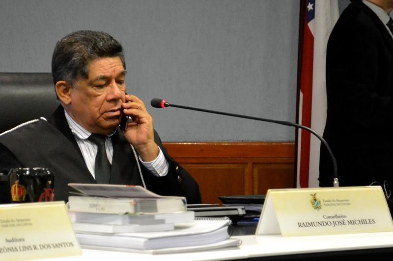 O conselheiro Raimundo José Michiles disse ser contra a suspensão da Ceap aos deputados estaduais (Foto: Valmir Lima)