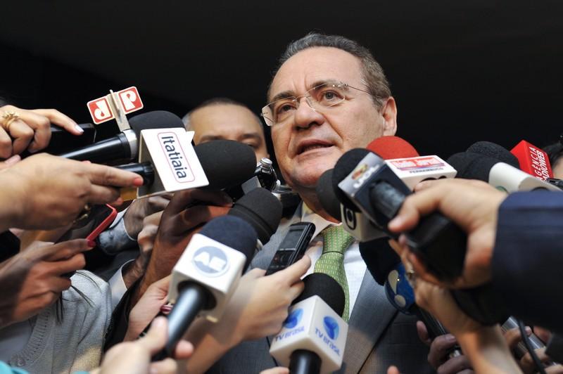 O presidente do Senado, Renan Calheiros (Foto: Jonas Pereira/Agência Senado)