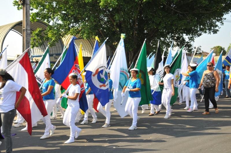 O desfile cívico dos estudantes, no dia 5 de setembro, será realizado no Centro de Convenções (Foto: Divulgação/Semed)