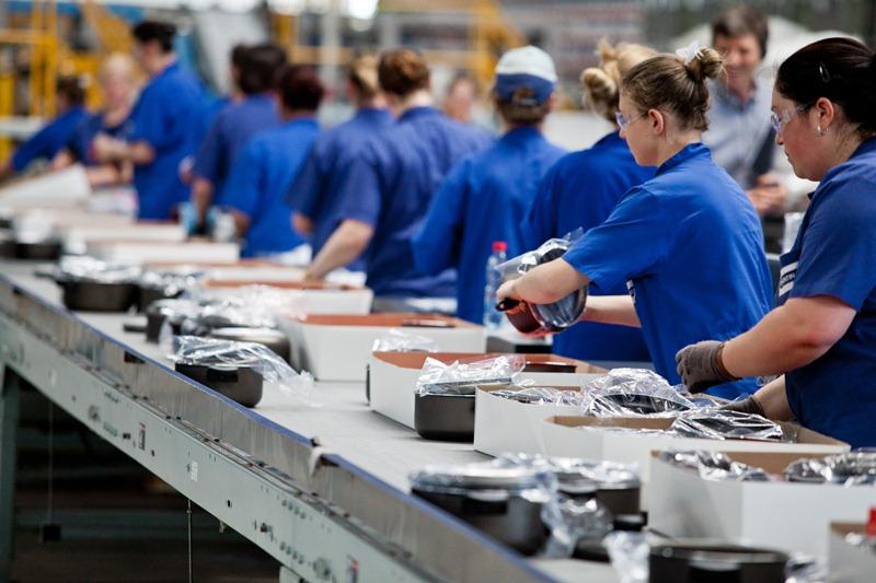 O setor industrial (Foto: Pedro Revillion/Palácio Piratini)