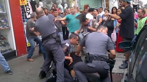 policial tiro