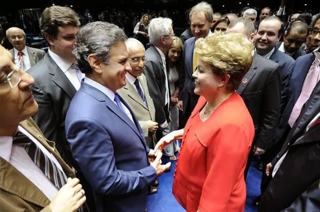 Aecio e Dilma