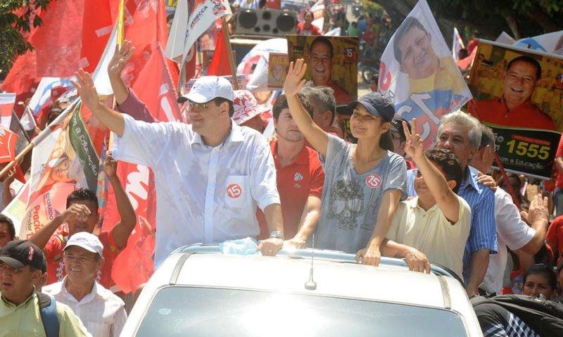 Eduardo Braga depende dos eleitores indecisos para liquidar a eleição no primeiro turno, segundo os números do Ibope (Foto: Divulgação)