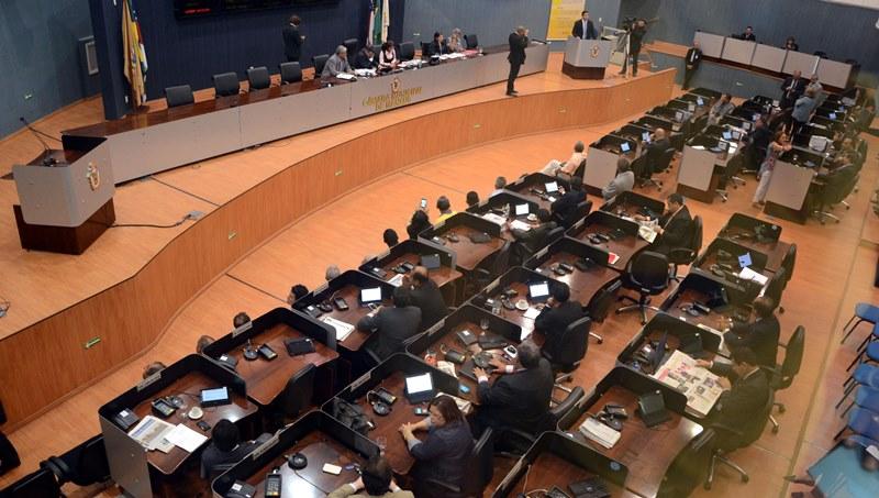 Bosco Saraiva afirmou que nenhuma sessão foi suspensa por falt ade quórum durante o período de campanha eleitoral (Foto: Robervaldo Rocha/CMM)