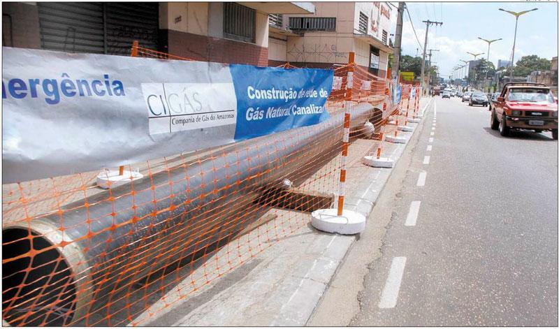 Companhia argumentou que precisou antecipar obra para aproveitar a duplicação de uma via no Distrito Industrial (Foto: Divulgação)