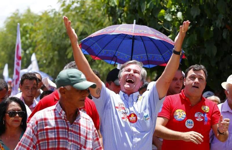 No passado, Fernando Collor de Mello foi o maior adversário do PT, uma rivalidade iniciada nas eleições de 1989 (Foto: Divulgação)