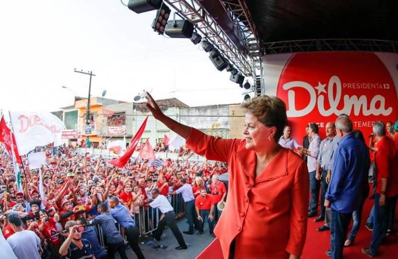 Dilma Rousseff enfrentou o adversário mais difícil em uma eleição presidencial, com a disputa mais acirrada da história da República (Foto: Divulgação)