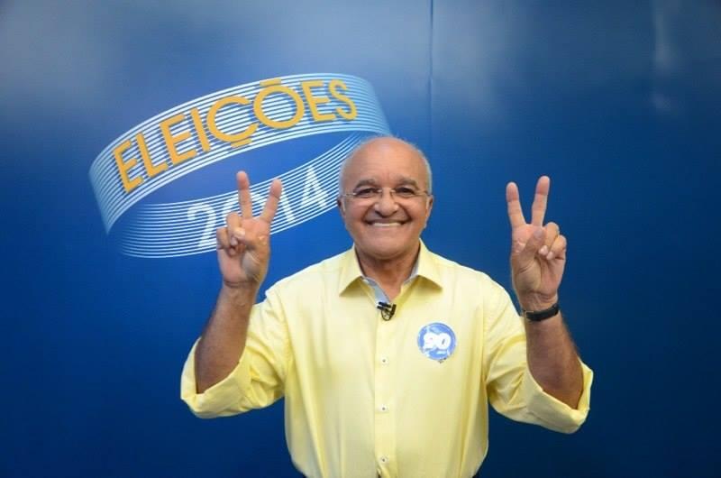 José Melo aparece à frente do adversário Eduardo Braga em duas pesquisas eleitorais realizadas no segundo turno (Foto: Divulgação)