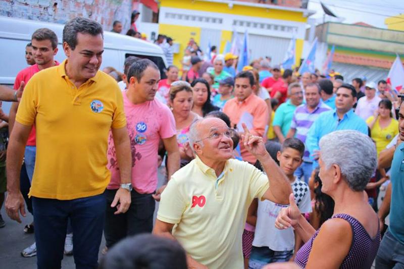 O governador Jose Melo arrancou na frente de Braga, segundo a pesquisa DMP, depois de ficar atrás no primeiro turno por uma diferença de 1.907 votos (Fofo: Divulgação)