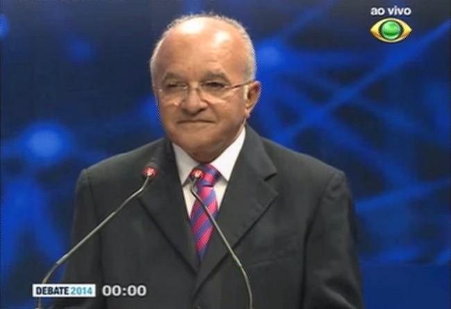 O governador José Melo afirma que não houve tempo para se preparar para o debate, mas há outros motivos para a ausência na Band (Foto: Reprodução)