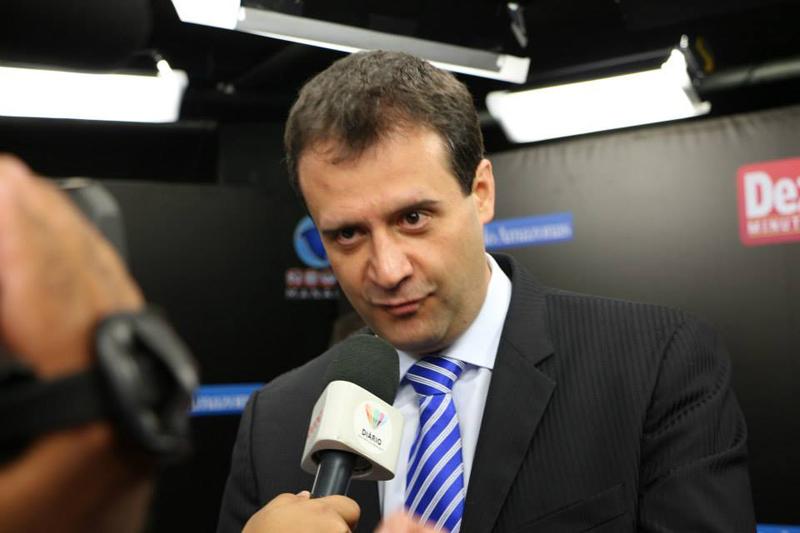 O presidente do PSB, Marcelo Serafim, faz segredo sobre o candidato que o partido apoiará no segundo turno (Foto: Divulgação)