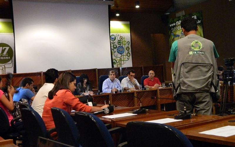 O superintendente da Suframa, Thomaz Nogueira,
