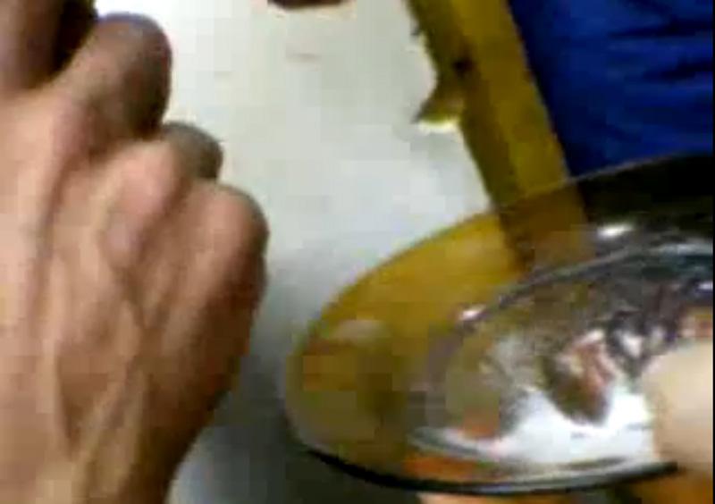 cocaina no prato