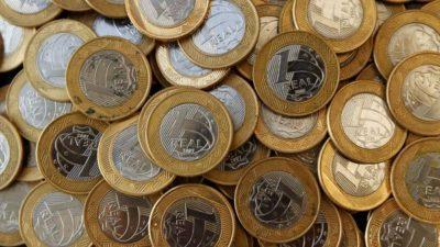 moedas troco