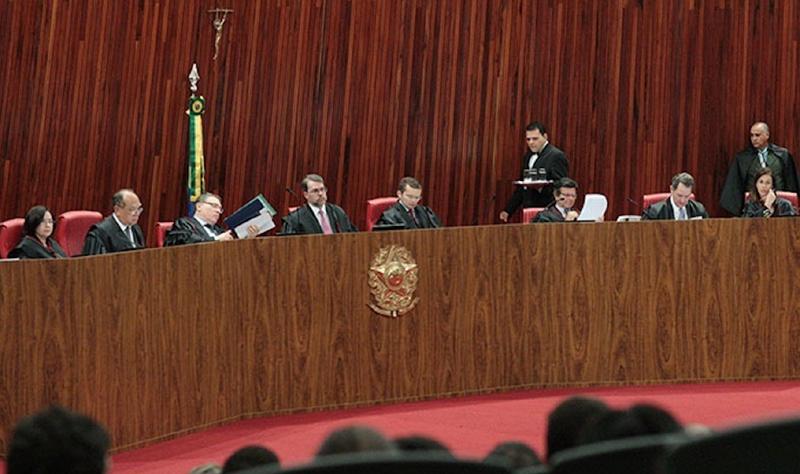 O plenário do TSE (Foto: Carlos Humberto/TSE)