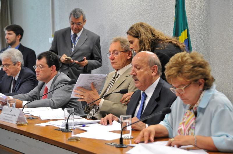 Reunião da Comissão de Assuntos Econômicos do Senado, que aprovou mudanças na lei de incentivos fiscais