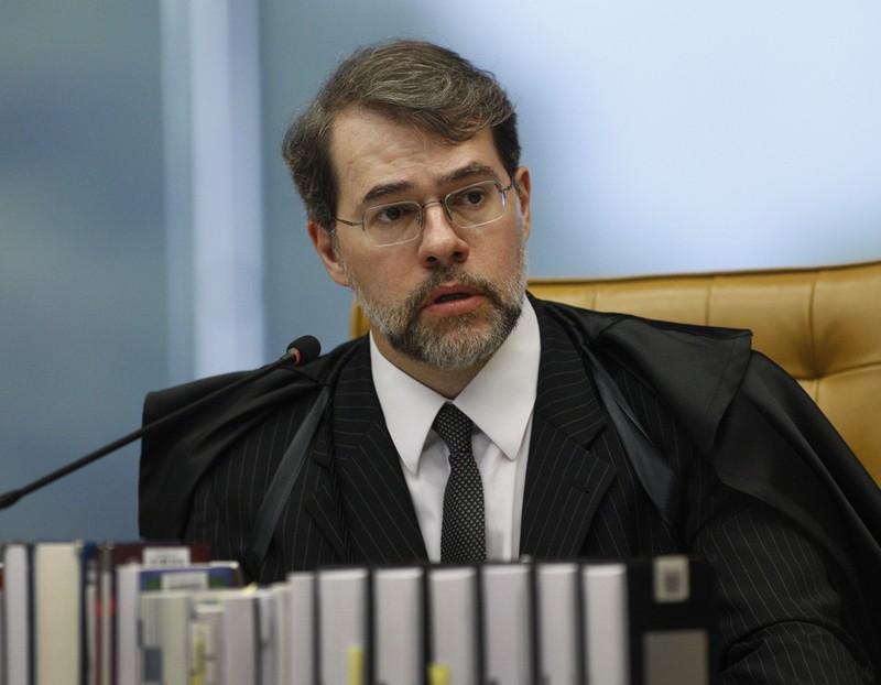 O ministro e presidente do STF, Dias Toffoli