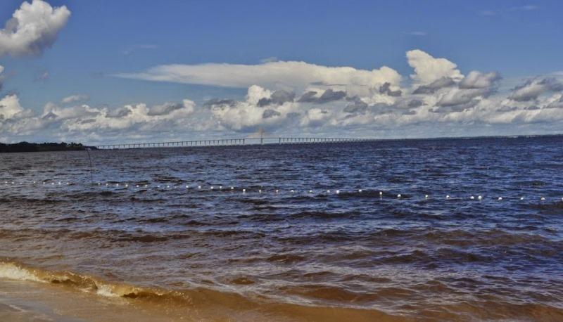 O Rio Negro é um dos rios listados nas ações ajuizadas pelo Ministério Público Federal com preocupação (Foto: Valmir Lima)