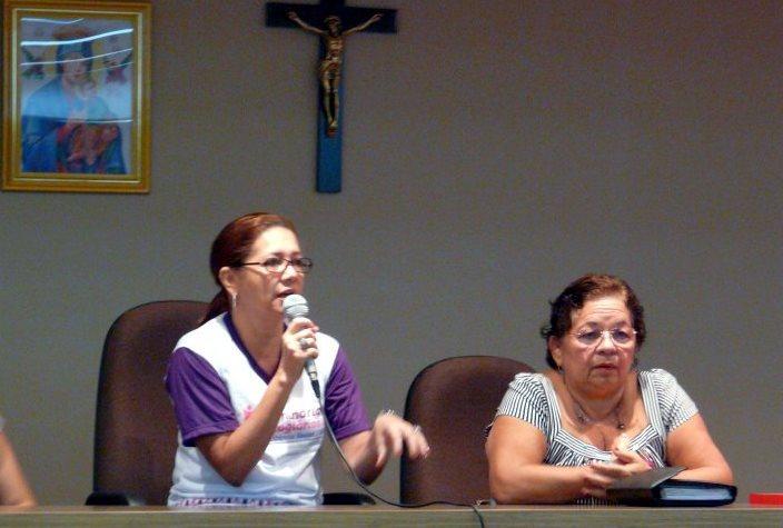 Regina Fernandes e Graça Prola são alvo da ação civil pública de improbidade administrativa proposta pelo MP-AM que pede a devolução de R$ 3,6 milhões (Foto: Divulgação/Seas)