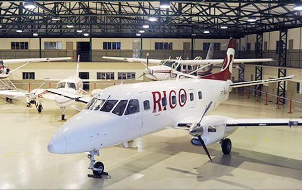 A Rico Táxi Aéreo faturou R$ 2 milhões com aluguel de aviões para os dois candidatos. Neste ano, ela tem contratado com o governo do Estado R$ 42 milhões com aluguel de aviões (Foto: Divulgação)