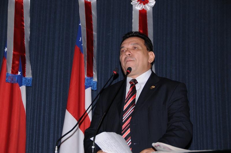 Tony Medeiros, que não conseguiu se reeleger, foi o deputado que mais gastou com telefone este ano na Assembleia Legislativa do Amazonas (Foto: Divulgação/ALE)