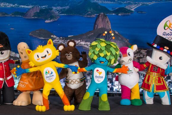 mascotes rio 2016