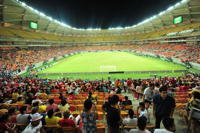 Ingresso mais barato, no anel superior da Arena da Amazônia para o torneio custará R$ 220 - R$ 110 a meia-entrada (Foto: Michel Dantas/Agecom)