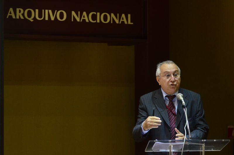 Jaime  Antunes  da  Silva  alerta  para lapso histórico que pode ocorrer sem catalogação de documentos (Foto: Tomaz Silva/Agência Brasil)