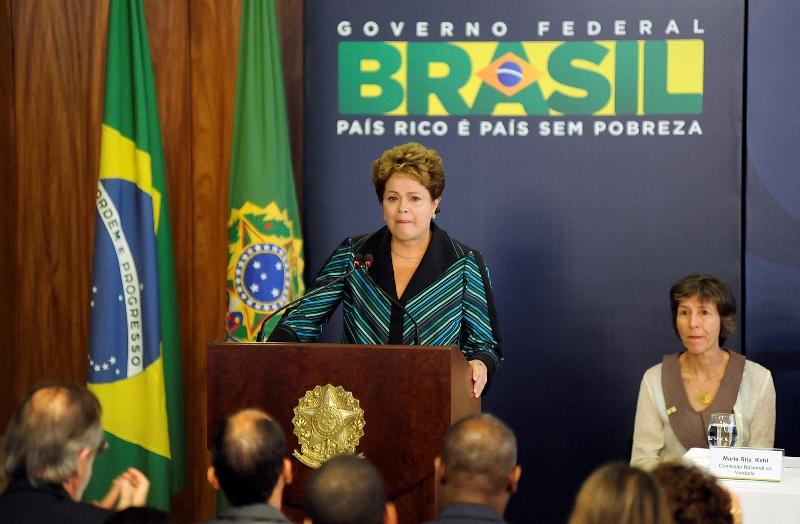Ela decidiu trocar o comando do Ministério das Relações Exteriores e indicou Mauro Luiz Iecker Vieira, embaixador nos Estados Unidos, para a pasta (Foto: Lucio Bernardo Jr./Câmara dos Deputados)