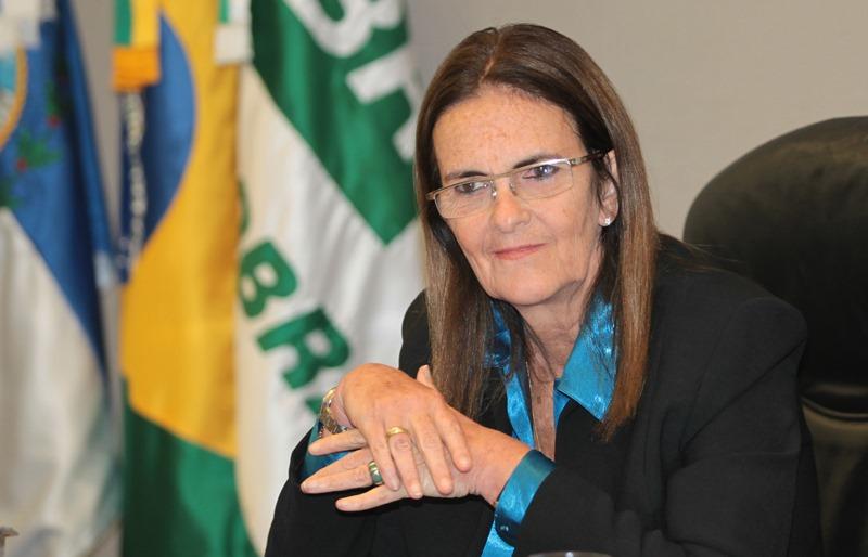 A presidente da Petrobras concedeu entrevista exclusiva nesta segunda-feira ao Jornal Nacional (Foto: Agência Petrobras)