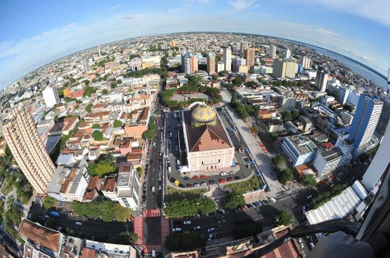 Manaus respondia por 77% do Produto Interno Bruto do Amazonas em 2012, de acordo com o IBGE (Foto: Chico Batata/Agecom)