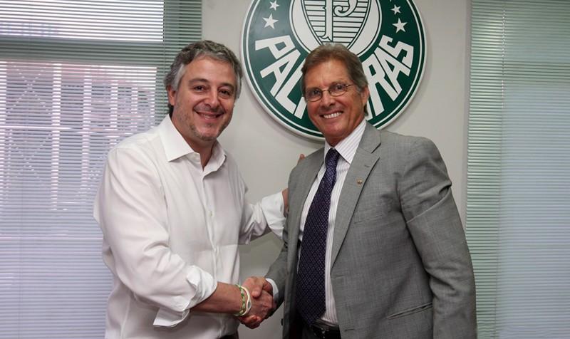 Oswaldo de Oliveira assume o comando do Palmeiras depois de uma temporada longe dos centros de treinamento (Foto: Divulgação/Palmeiras)