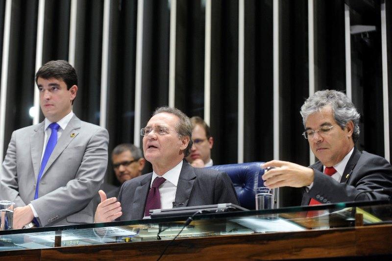 Os parlamentares rejeitaram a emenda apresentada pela oposição e o projeto vai à sansão da presidente Dilma Rousseff (Foto: Moreira Mariz/Agência Senado)