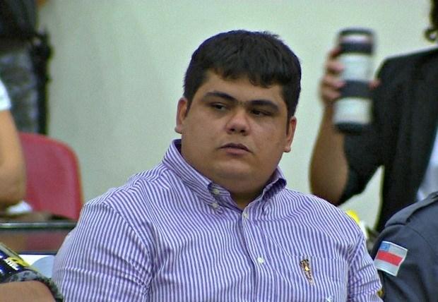 Raphael Souza estava preso desde 30 de novembro de 2009 no Comando de Policiamento Especial da PM (Foto: Reprodução)