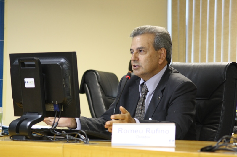 O diretor-geral Romeu Rufino